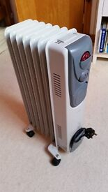 Selling our Oil filled Radiator - excellent condition £15- 8 heat setting with full and half power