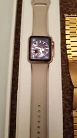 Apple watch 42mm rose gold sport