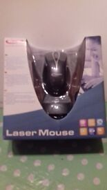 Laser Mouse for Windows 98SE , 2000, ME & XP at GARAGE SALE 29 & 30 OCT OAKWOOD PARK YOXFORD SUFFOLK