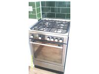 Hotpoint Freestanding Cooker DHG65SG1Cx only 1 year old. New Range Cooker bought