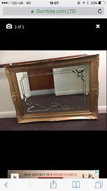 "Large handmade 54"" mirror"