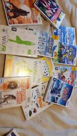 Boxed Wii cnsole big bundle