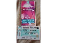 Creamfields Ticket (Sat & Sun standard camping)