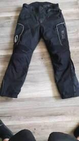 Richa textile bike trousers