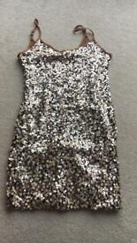 Size 8 sequinned dress