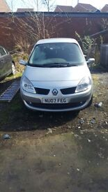 Renault scenic 7 seater .100 000 miles Body work and interior in good condition