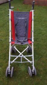 Maclaren major special needs pushchair buggy stroller