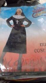 Nun Halloween Costume with FREE Cross
