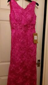 Beautiful pink lace prom/formal dress, never worn