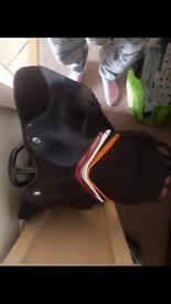 Thorowgood ponyclub saddle