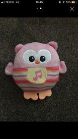 Musical light up owl