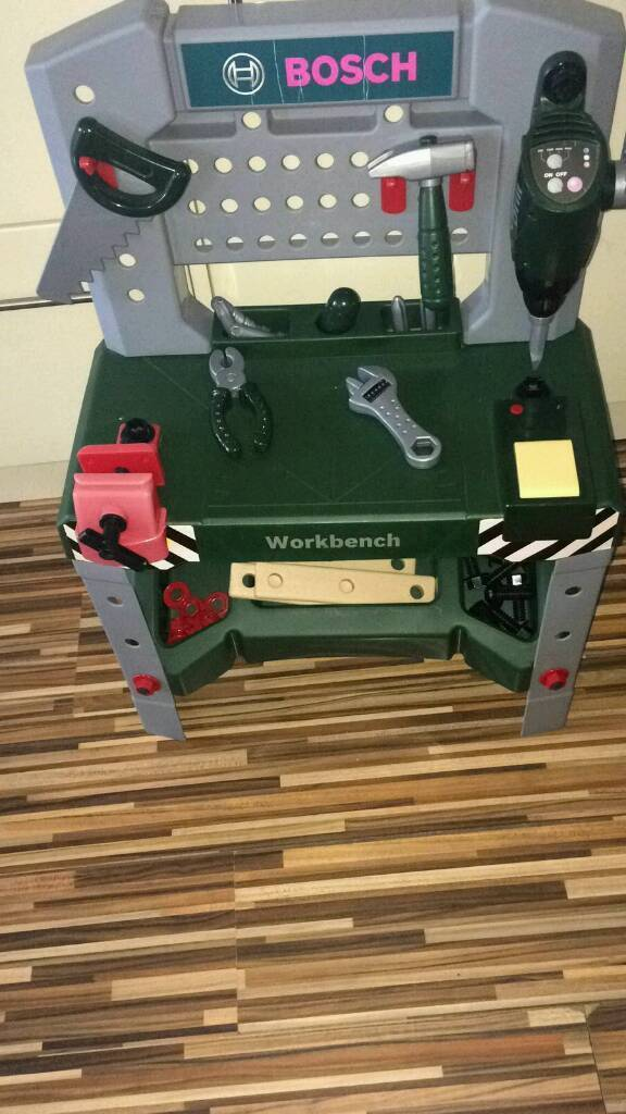 Bosch tools and work station