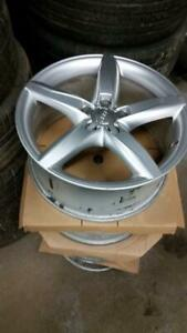 Used 18 OEM Audi A4 alloy rims 5x112 in stock $600 // set of rims and tires in stock $1200
