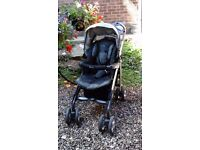 Silver Cross buggy with cosy toes and rain cover. Good condition