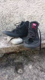Vans high tops used size 6
