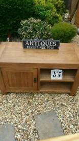 Solid rustic oak furnitureland tv unit