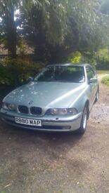 BMW 528i, manual, fsh
