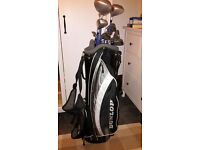 Ladies Golf Bag, Clubs, Trolley, Gloves, Balls, Tees.