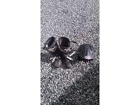 Alpinstar triaks boots 10, Arioh trials helmet XL