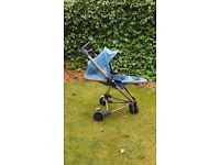 Quinny zapp xtra blue charm limited edition bronze frame buggy