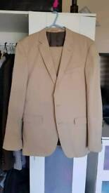 Butler & Webb Beige Summer Suit