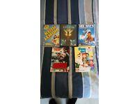 Dvds, Keith lemon the film, cockneys vs zombies, ice age 4, family guy season 8 boxset, legion