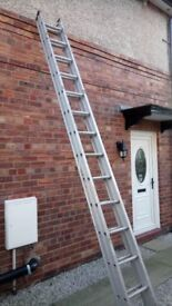4 Metre Aluminium 2 section extension ladders £75 ono