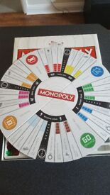 Monopoly Revolution Electronic Monopoly Game (Credit card payments)