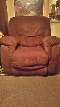 single recliner brown Doonside Blacktown Area Preview