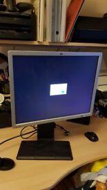 HP LP2065 20 inch monitor 2 DVI inputs