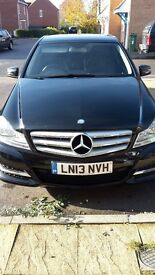Black Mercedes-Benz 2.1 C220 CDI blueEFFICIENCY SE(Executive Pack) good condition inside and out