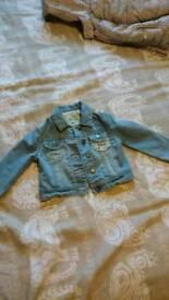 12-18months girls denim jacket mantaray debenhams