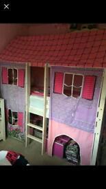 Single. Mid sleeper, cottage bed.