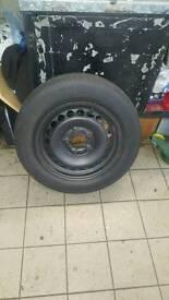 BMW steel wheels