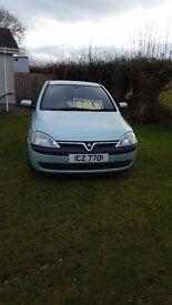 Vauxhall Corsa 2001 1.2 petrol