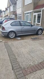 Bmw compact 3 series silver for sale
