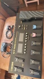 GT-100 GUITAR MULTI EFFECTS PEDALBOARD IN EXCELLENT CONDITIONS LOADED WITH ALL BOSS EFFECTS