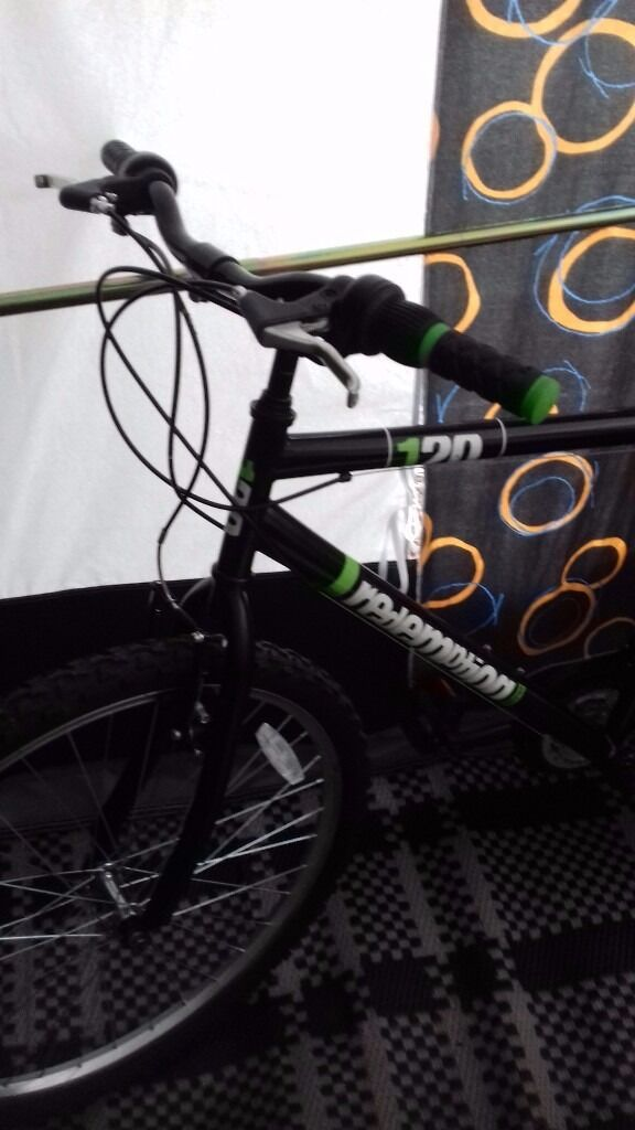"""Gents Mountain BikeHybrid Bike6 months oldbargain at75in Kilmarnock, East AyrshireGumtree - Gents Redemption Storm bike. Only 6 months old great condition. Retails between £159 and £179. Email or phone, text for further info. Southcraig area of Kilmarnock Fenwick turnoff M77. Spec The Redemption Storm 18 speed 26"""" wheel gents mountain..."""