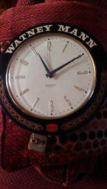 Watneys mann electric clock