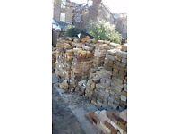 Rcelaimed London yellow stock bricks