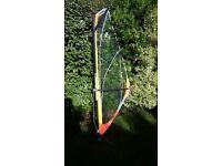 Kids 2.4m windurfing rig