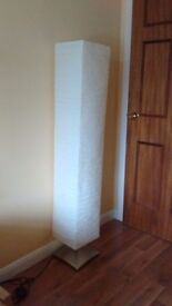 Floor standing lamp gives great soft lighting in very good condition, buyer collects