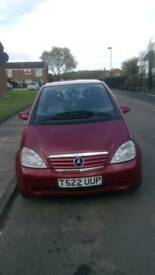 Mercedes A140 for sale/swap