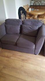2 x Two seater sofa