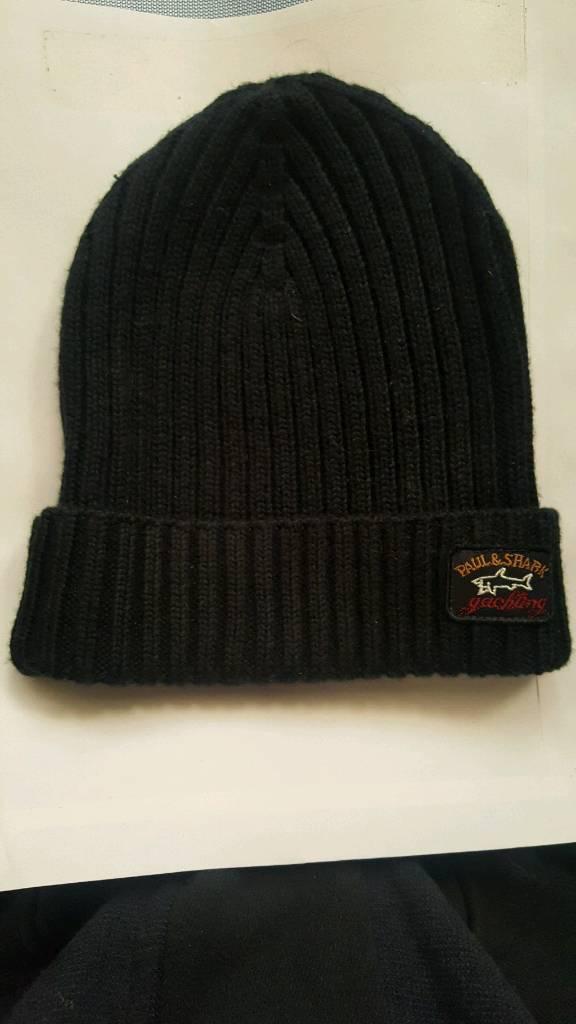 Brand new Paul   Shark ribbed wool hat  98adaf447411