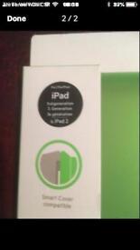 BNIB belkin iPad cover in green