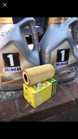 Porsche 986 Oil Service kit