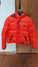 BRAND NEW Penfield woman's puffa jacket, orange, small
