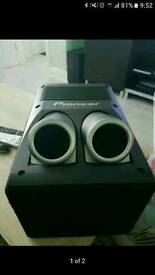 Pioneer TS-WX206A Active Subwoofer