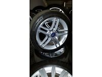 Genuine 2012 Mercedes AMG alloys 5x112 17""